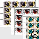 Artistic Photography - Birds Eyes - (Sheetlet CTO)