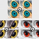 Artistic Photography - Birds Eyes - (Block of 4 CTO)