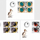 Artistic Photography - Birds Eyes - (FDC Block of 4)