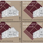 500 Years of the Biedermann House - (Block of 4 Mint)