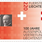 100 Years of Liechtenstein's Foreign Representation - Set Mint