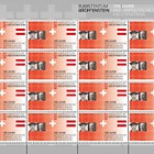 100 Years of Liechtenstein's Foreign Representation - Full Sheet Mint