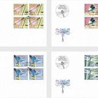 Dragonflies - FDC Block of 4