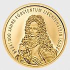 列支敦士登300年2019年 - 瑞士法郎10金币