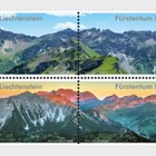 Mountain Panorama - Block of 4 Mint