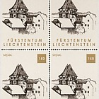 Sepac 2019 - Old Residential Buildings - Block of 4 Mint