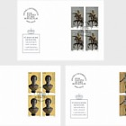 Princely Treasures - Sculptures of Antico - FDC Block of 4