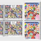Diversity - Joint Issue with Switzerland - Block of 4 Mint