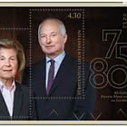 75th Birthday of Prince Hans-Adam II / 80th Birthday of Princess Marie of Liechtenstein