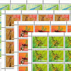 Dragonflies - II - Sheet x20 Stamps Mint