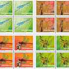 Dragonflies - II - Block of 4 Mint