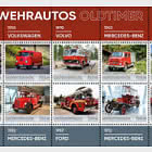 Oldtimer Fire Engines - Collection Sheet