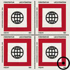 SEPAC - Art from the State Collection - Block of 4 CTO