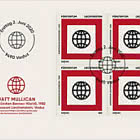 SEPAC - Art from the State Collection - FDC Block of 4