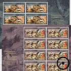 Princely Treasures – Hunting Scenes of Rubens - Sheet x 8 Stamps CTO