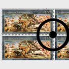 Princely Treasures – Hunting Scenes of Rubens - Block of 4 CTO