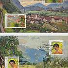 Joint Issue Ukraine-Liechtenstein - Eugen Zotow