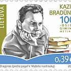 100th Anniversary of Kazys Bradūnas