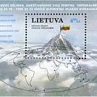 Bandera Lituana en los Picos más Altos del Mundo