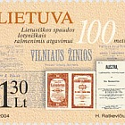 100th Anniversary of the Re-Establishing of  Lithuanian Printing in Latin Characters