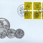 Monedas de Vytis - El Símbolo del Emblema del Estado de Lituania
