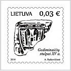 Symbols of the State Lithuania - Gediminaiciai Columns