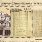 100th Anniversary of Restoration of Lithuanian State