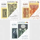 Symbols of Lithuania State - Historic Paper Banknotes