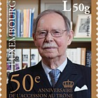 50th Ann of the Accession to the Throne of H.R.H Grand Duke Jean