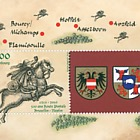 500th ann of the passage of the Thurn & Taxis postal route through Luxembourg