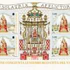 Luxembourg 2016 MS - 350 yrs Virgin Mary was elected patroness of the City of Luxembourg (Città del Vaticano Version)