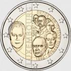 2 euros 2015 125 años de dinastía