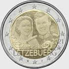 2 euros - 40 ans de mariage du Grand-Duc Henri (Photo)