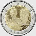 2 Euro - 100 ans du Grand-Duc Jean (Photo)