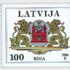 Latvian County and City Coat of Arms 1994