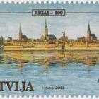 800th Anniversary of Riga 2001