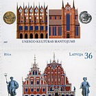The Hansa Cities - Joint issue of Latvia & Germany