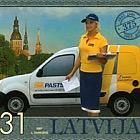 375th Ann. of Latvia Post 2007