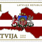 90th Ann. of Latvian Republic 2008