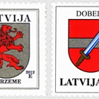 Coats of Arms (reprint) 2012 - Kurzeme & Dobele