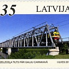 Railway bridges Baltic states 2012