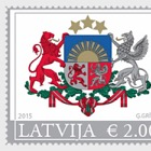 Latvian County & City Coat of Arms (Standard) 2015