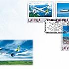 Personalisierte Briefmarke - Flugverkehr 2014