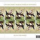 Latvian Natural History Museum of the unique exhibits - aberrant birds, 2016
