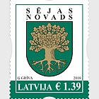 Coats of Arms of Cities & Regions of Latvia 2018 - Seja Municipality