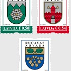 Coats of Arms of Cities & Regions of Latvia 2019