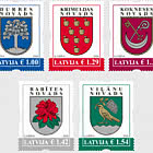 Coats of Arms of Cities & Regions of Latvia 2020