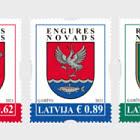 Coats of Arms of Cities & Regions of Latvia 2021