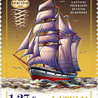 History Of Navigation - Three-Mast Barquentine