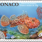 Prefranked Stamp- Red Scorpionfish